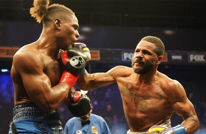 Dirrell fought to a split decision draw against Kyrone Davis in February Photo Credit: Sean Michael Ham / TGB Promotions