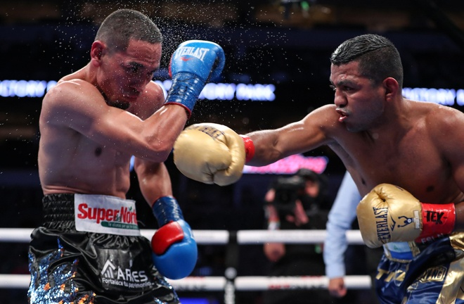 Gonzalez felt he had done enough to win after a dramatic battle Photo Credit: Ed Mulholland/Matchroom