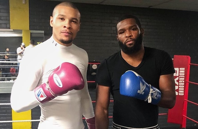 Douglin is keen to face former sparring partner Chris Eubank Jr if he beats Ammo Williams