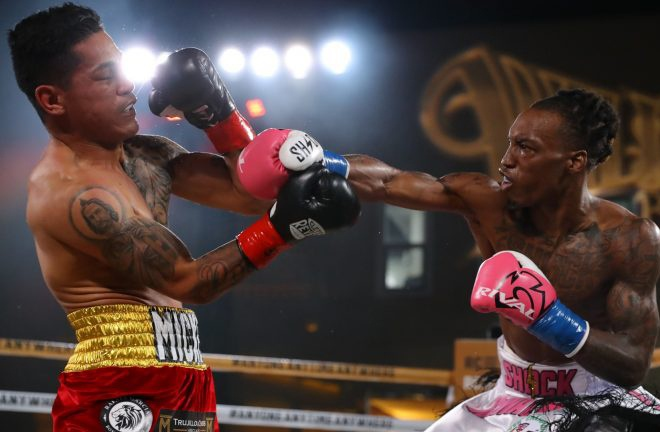 Foster knocked out Miguel Roman in nine rounds in November Photo Credit: TOM HOGAN/RING CITY