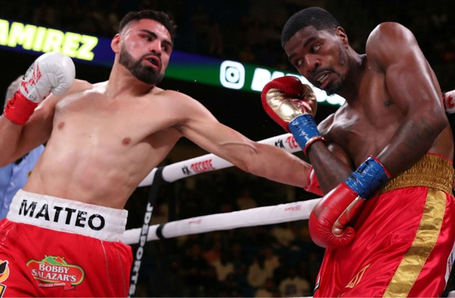 Hooker lost his world title to Jose Ramirez in 2019, prompting a move to Welterweight Photo Credit: Ed Mulholland/Matchroom Boxing