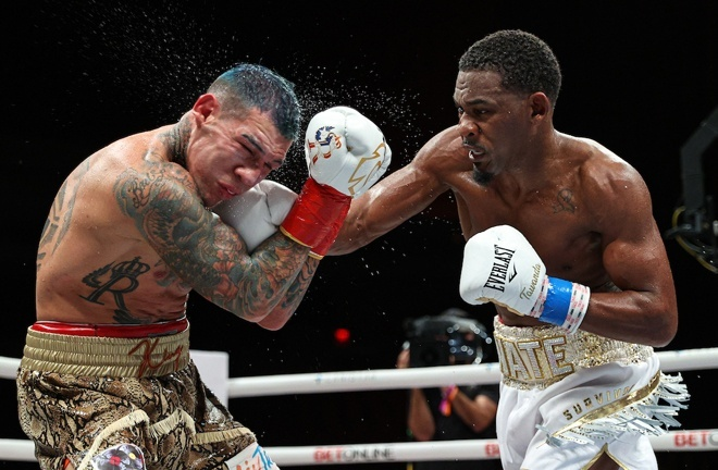 Daniel Jacobs claimed a split decision win over Gabriel Rosado in November Photo Credit: Ed Mulholland/Matchroom Boxing