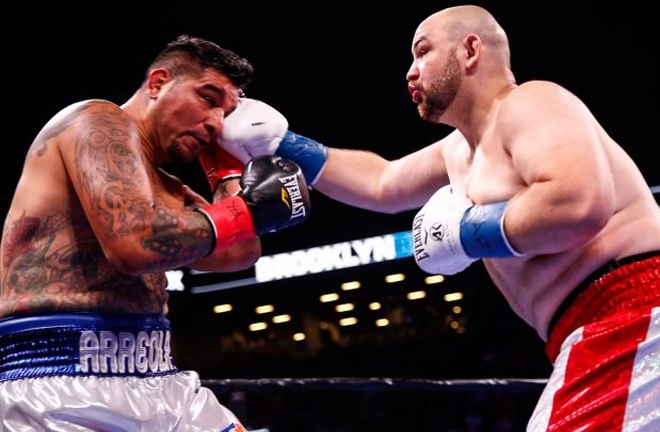 Chris Arreola was defeated by Adam Kownacki last time out Photo Credit: STEPHANIE TRAPP/TGB PROMOTIONS