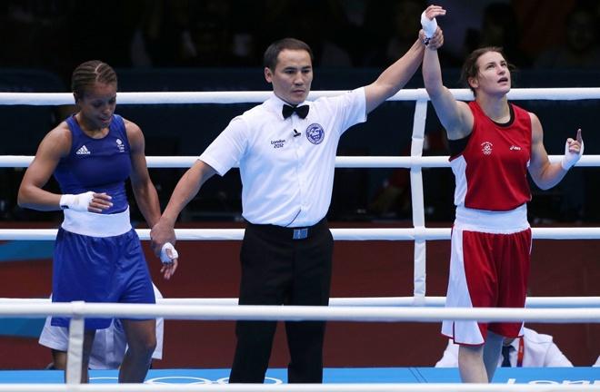 Katie Taylor and Natasha Jonas renew their Olympic rivalry