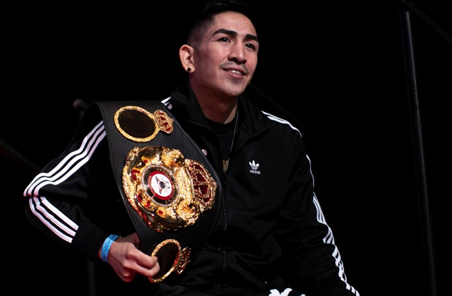 Santa Cruz has held world titles in four weight classes Photo Credit: Esther Lin/SHOWTIME