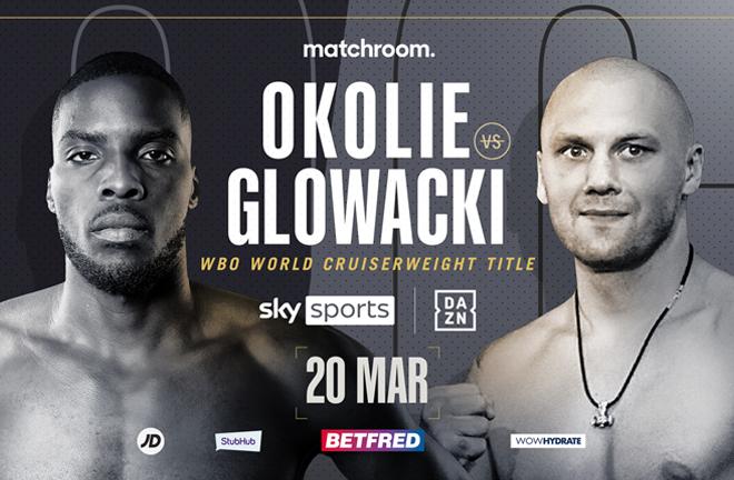 Watch Okolie vs. Glowacki PPV 2021 3/20/21