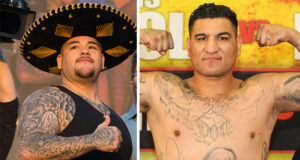 Andy Ruiz Jr returns against Chris Arreola on May 1 in California Photo Credit: Dave Thompson/Matchroom Boxing/Lucas Noonan / Premier Boxing Champions