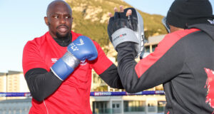 Dillian Whyte looks for revenge against Alexander Povetkin in Gibraltar tonight Photo Credit: Mark Robinson/Matchroom Boxing