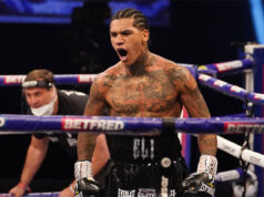 Conor Benn stopped Samuel Vargas in just 82 seconds to retain his WBA Continental Welterweight crown in London on Saturday Photo Credit: Dave Thompson/Matchroom Boxing
