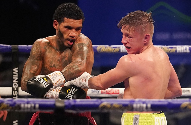 Benn dominated Sebastian Formella in November Photo Credit: Dave Thompson/Matchroom Boxing