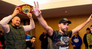 Tyson Fury has backed Billy Joe Saunders to defeat Canelo Alvarez on May 8 Photo Credit: SNS Group