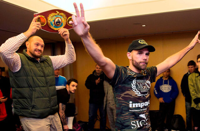 Tyson Fury has backed Billy Joe Saunders to defeat Canelo Alvarez on May 8 Photo Credit: SNS Group