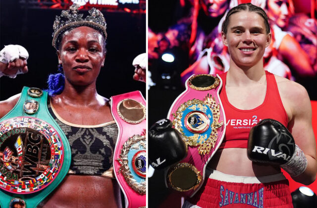 Claressa Shields vs Savannah Marshall could be a super fight according to promoter Dmitry Salita Photo Credit: Stephanie Trapp/SHOWTIME/Dave Thompson/Matchroom Boxing