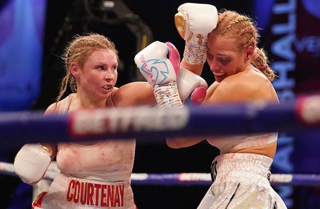 Shannon Courtenay overcame Ebanie Bridges to become WBA Bantamweight world champion Photo Credit: Dave Thompson/Matchroom Boxing