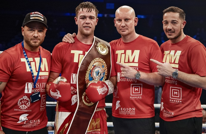 Dignum makes a second defence of his WBO European Middleweight crown Photo Credit: Scott Rawsthorne/MTK Global
