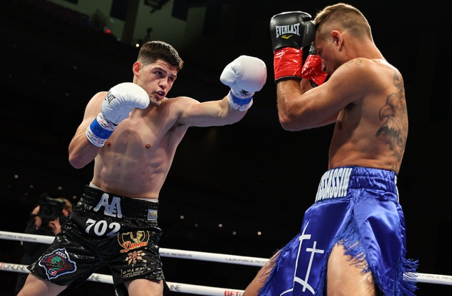 Alexis Espino picked up his eighth victory Photo Credit: Ed Mulholland/Matchroom