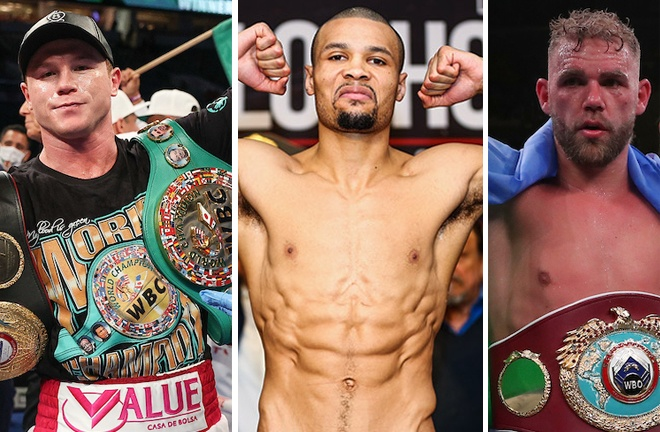 Chris Eubank Jr believes Canelo Alvarez will knock out Billy Joe Saunders on May 8 Photo Credit: Ed Mulholland/Matchroom Boxing/Stephanie Trapp/SHOWTIME