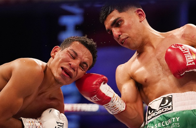 Kash Farooq secured the WBC International Bantamweight title with a points win over Alexander Espinoza Photo Credit: Dave Thompson/Matchroom Boxing