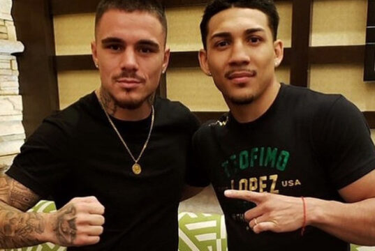 Teofimo Lopez will face mandatory challenger George Kambosos Jr on June 5 live on Triller PPV