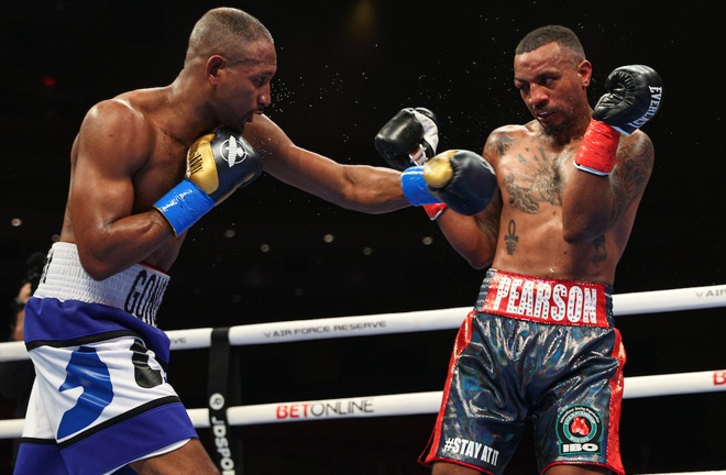 Carlos Gongora stopped Christopher Pearson in the eighth round Photo Credit: Ed Mulholland/Matchroom