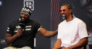 David Haye says Derek Chisora will not leave it in the judges hands against Joseph Parker on Saturday Photo Credit: Dave Thompson/Matchroom Boxing