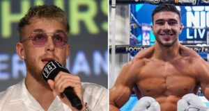 Jake Paul and Tommy Fury have both discussed a potential future showdown with each other Photo Credit: Ed Mulholland/Matchroom Boxing USA/Round 'N' Bout Media/Queensberry Promotions