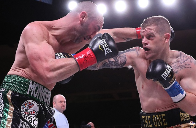 Johnson stopped Sean Monaghan in three rounds in his last fight in March 2019 Photo Credit: Ed Mulholland/Matchroom Boxing USA