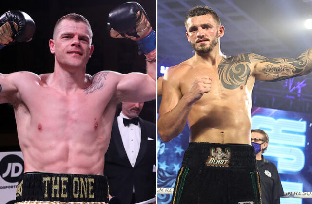 Callum Johnson says he would take a fight with WBO champion, Joe Smith Jr ahead of his return against Emil Markic on Saturday Photo Credit: Ed Mulholland/Matchroom Boxing USA/Mikey Williams/Top Rank