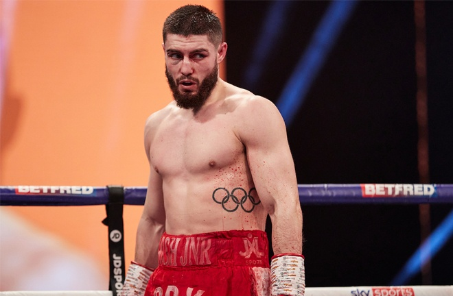A fight with Josh Kelly remains a big domestic showdown despite defeat to David Avanesyan Photo Credit: Mark Robinson/Matchroom Boxing