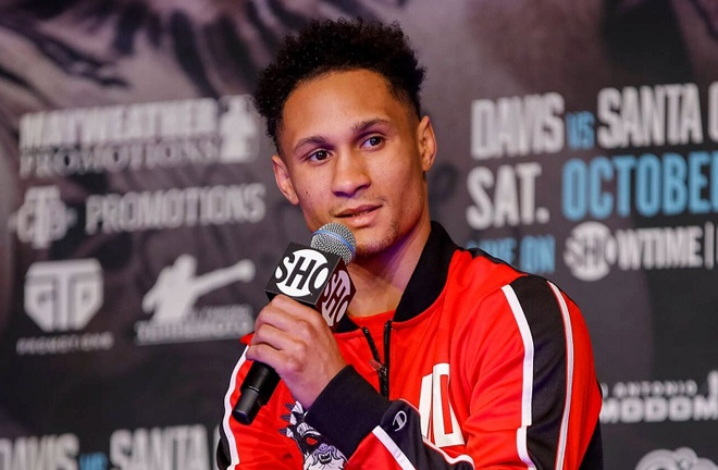 Regis Prograis has had his win over Ivan Redkach overturned from a technical decision to a TKO by the Georgia Commission Photo Credit: Esther Lin/SHOWTIME