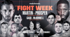 Sandor Martin and Andoni Gago defend their European titles against British opposition in the form of Kay Prosper and Gavin McDonnell on Friday on DAZN
