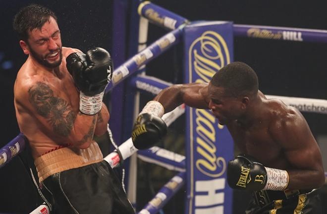 Joshua Buatsi produced an explosive finish to halt Marko Calic in seven rounds in October Photo Credit: Mark Robinson / Matchroom Boxing