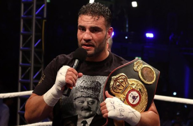 Charr previously held the WBA 'Regular' Heavyweight title Photo Credit: www.fightsports.tv