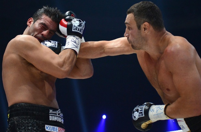 Charr was beaten in four rounds by Vitali Klitschko in a bid for the WBC title in 2012 Photo Credit: boxrec.com
