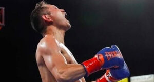 Nonito Donaire became the oldest bantamweight Champion last night after his 4th round stoppage win over Nordine Oubaali.