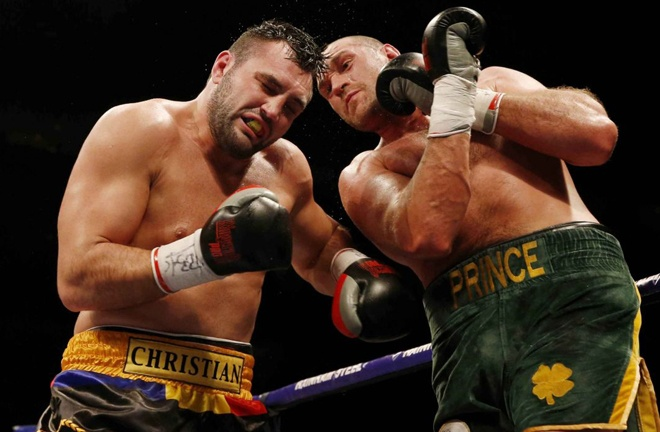 Christian Hammer was beaten by Tyson Fury in 2015 Photo Credit: Action Images