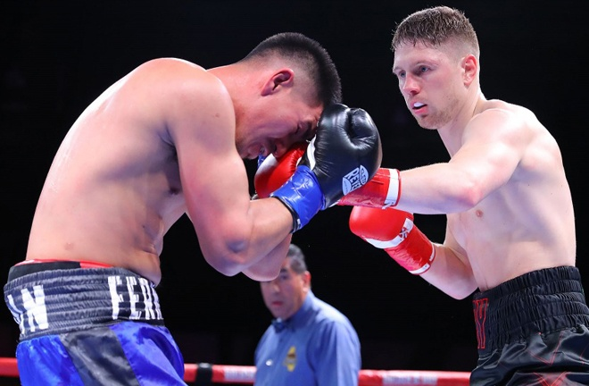 Quigley scored a third round stoppage over Fernando Marin in his last fight in January 2020 Photo Credit: Tom Hogan-Hoganphotos/Golden Boy