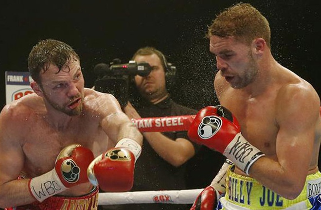 Lee was beaten by Saunders on a majority decision in 2015 Photo Credit: Action Images