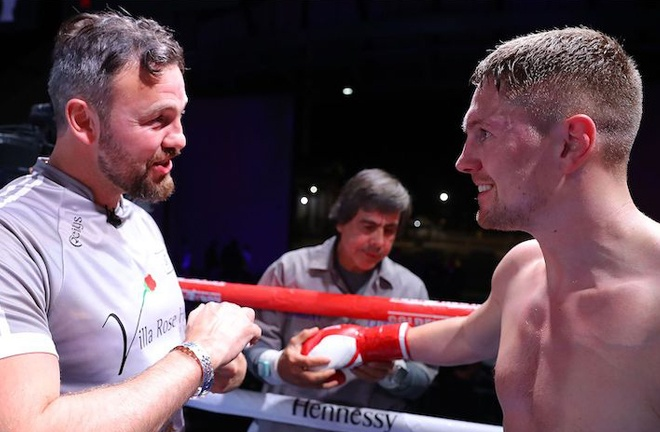 Quigley is trained by former Middleweight world champion Andy Lee Photo Credit: Tom Hogan-Hoganphotos/Golden Boy
