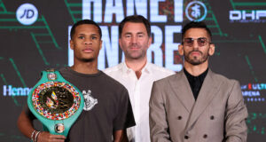 Jorge Linares is confident of dethroning Devin Haney to become WBC Lightweight champion in Las Vegas on Saturday night Photo Credit: Ed Mulholland/Matchroom