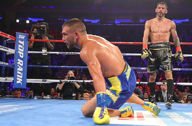 Linares became the first person to drop Vasyl Lomachenko before succumbing to a tenth round defeat in 2018 Photo Credit: Tom Hogan / Hoganphotos-Golden Boy Promotions