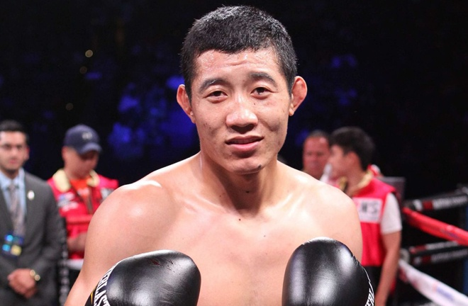 Fanlong Meng is the number one contender with the IBF Photo Credit: Roc Nation Sports