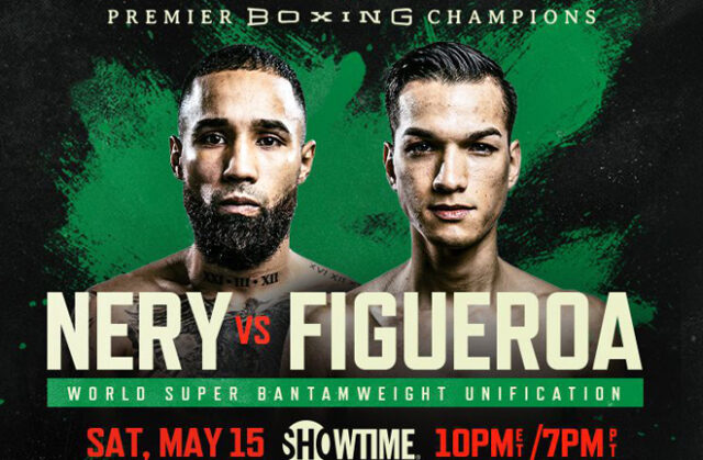 Luis Nery and Brandon Figueroa clash in a Super Bantamweight world title unification in California on Saturday