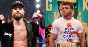 Caleb Plant is confident he can beat Canelo Alvarez to become undisputed Super Middleweight king Photo Credit: Sean Michael Ham/TGB Promotions/Ed Mulholland/Matchroom