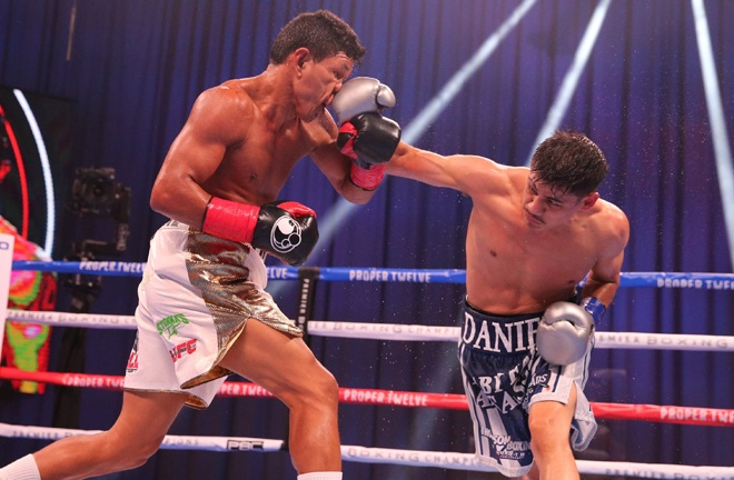 Roman saw off Juan Carlos Payano in September Photo Credit: Amanda Westcott / Showtime
