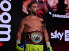 Billy Joe Saunders' dad has claimed they will walk away from Saturday's fight with Canelo Alvarez if the ring issue is not resolved Photo Credit: Mark Robinson/Matchroom Boxing