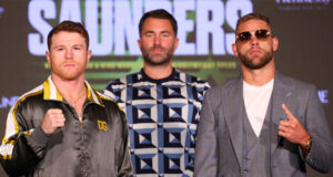 Canelo Alvarez faces Billy Joe Saunders in Texas this weekend in a Super Middleweight world title unification Photo Credit: Ed Mulholland/Matchroom