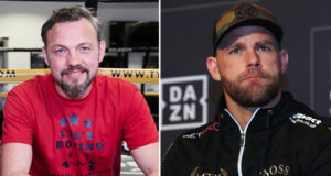 Andy Lee says Billy Joe Saunders has underrated power ahead of his showdown against Canelo Alvarez Photo Credit: Mark Robinson/Matchroom Boxing