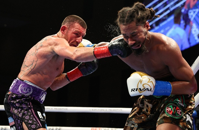 Liam Williams' stock rose in defeat to WBO Middleweight world champion, Demetrius Andrade Photo Credit: Ed Mulholland/Matchroom