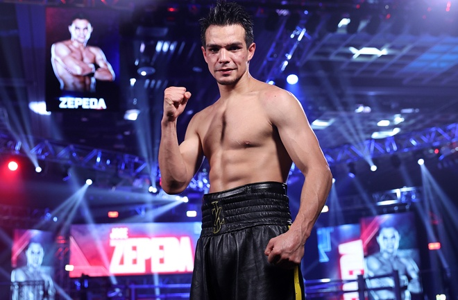 Zepeda is the number one contender with the WBC Photo Credit: Mikey Williams / Top Rank